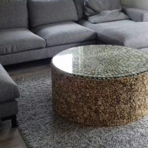 salontafel drijfhout 100-120 cm