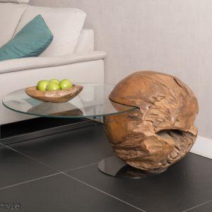 salontafel teak ball