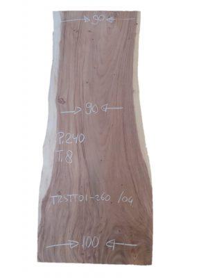 Boomstamtafel 240 cm. (90-90-100)