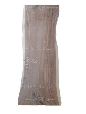 Boomstamtafel 260 cm. (97-92-103)